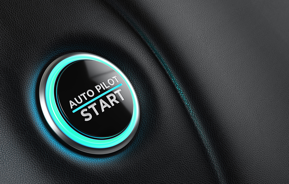 Auto Pilot car start button